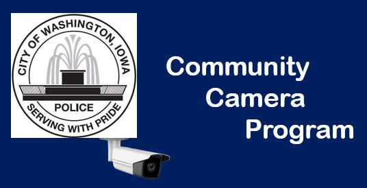Washington police community camera program