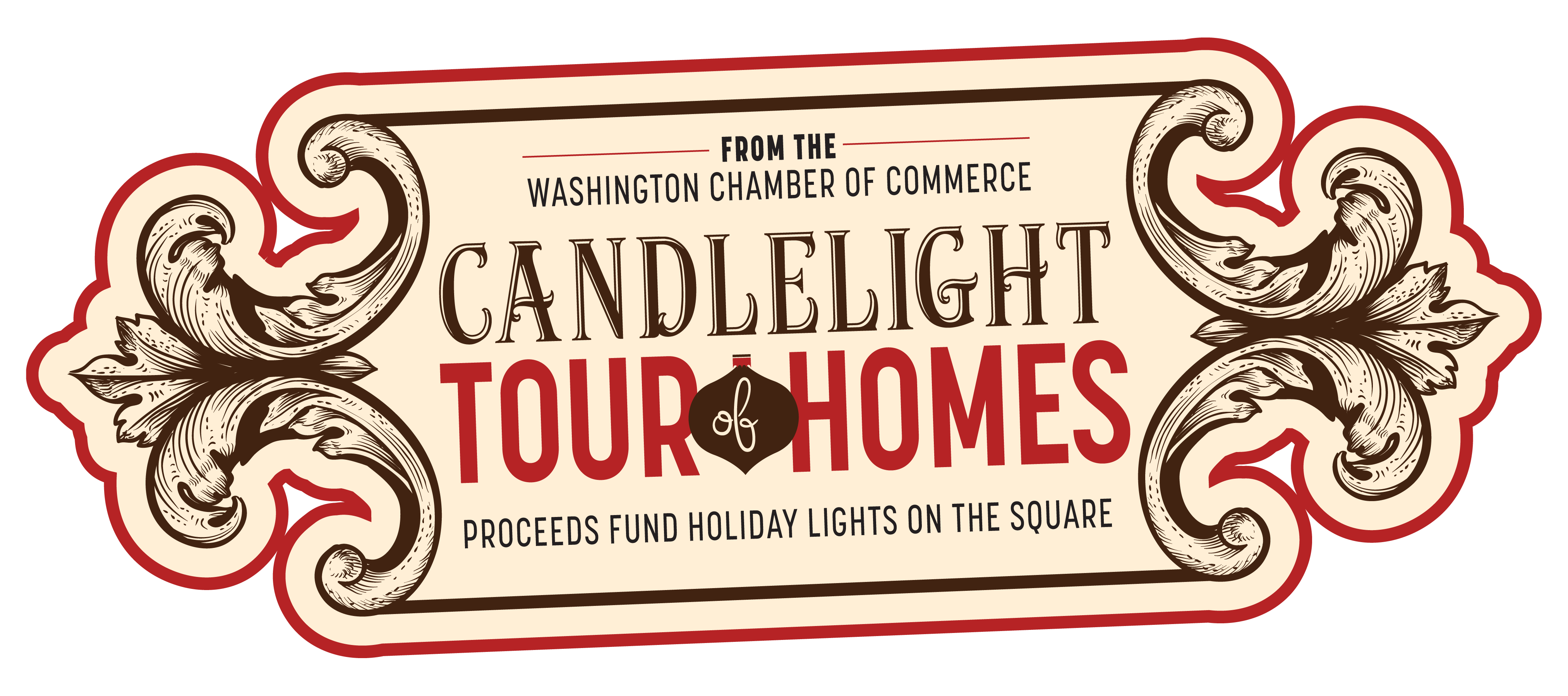 Washington Chamber of Commerce Candlelight Tour of Homes fundraiser